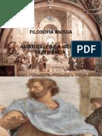 FILOSOFIA ANTIGA - ARISTÓTELES