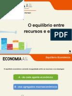 8.2 O equilíbrio entre recursos e empregos (30 diapositivos)