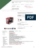 Atx gaming computador pc caso caixa de mesa desktop gamer vertical gabinete cpu água refrigeração da baía da unidade transparente placa mãe_Torres e estojos p_computador_ - AliExpress