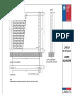 Lamina T2 Cierro albañilería