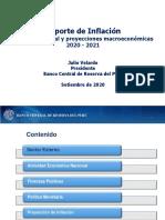 Reporte de Inflacion Setiembre 2020 Presentacion