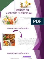 generalidades de nutrición - conceptos basicos