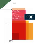 Charlas sobre tópicos de auditoría interna 2011 - PwC Venezuela