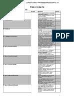 Cuestionarios RP PSICOLOGIA APLICADA