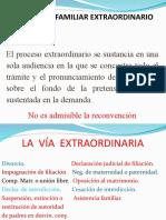 PROCESO FAMILIAR EXTRAORDINARIO