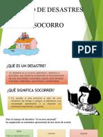 Exposicion MANEJO DE DESASTRES