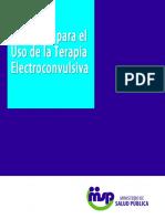 Protocolo para el Uso de la Terapia Electroconvulsiva