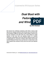 Dual Boot with Fedora Core 6 and Windows XP