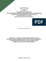 Identificação de Aglomerações Produtivas de Tecnologia da Informação e Comunicação no Brasil e as Políticas de Incentivo a essas Estruturas Produtivas pelo Governo Federal
