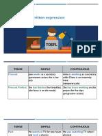 Grammar and Written Expression