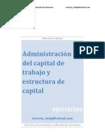 Administración del capital de trabajo y estructura de capital