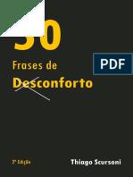 50 Frases de Desconforto - Thiago Scursoni
