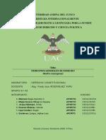 PRINCIPIOS GENERALES DE DERECHO - CONSTITUCIONAL - M. C.