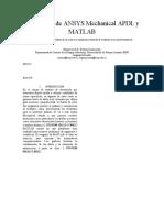 Integración de ANSYS Mechanical APDL y MATLAB.docx