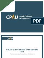 Presentación - Encuesta 2010