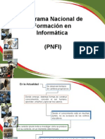 Informacion sobre el PNFI