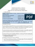 Syllabus de curso cálculo diferencial
