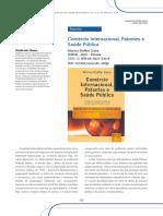 COMÉRCIO internacional, patentes e saúde pública.pdf