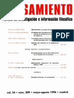 García Amilburu María. La cultura como universo simbolico en Cassirer.pdf