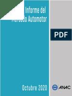10 ANAC Mercado Automotor Octubre 2020