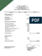 ESTADO DE RESULTADOS INTEGRAL DEL PERIODO A 31 DE OCTUBRE DE 2020