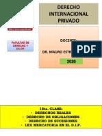 Derechos Reales, De Obligaciones, De Sucesiones - Ley Mercatoria en El D.I.P.