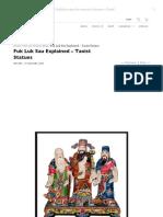 Fuk Luk Sau Explained – Taoist Statues - Tin Yat Dragon