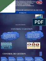 PRESENTACION SISTEMA DE CONTROL DE GESTION EN EL SECTOR PUBLICO