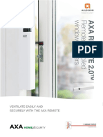 1707 AXA Remote Brochure