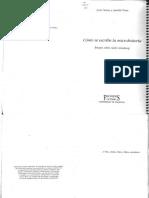 Justo Serna_ Anaclet Pons - Cómo se escribe la Microhistoria_ ensayo sobre Carlo Ginzburg-Frónesis_ Cátedra_ Universitat de València (2000).pdf