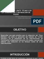 GUÍA 17-LA APLICACIÓN DE LÍMITE TÉCNICO EN LA TERMINACIÓN