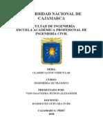 CLASIFICACIÓN VEHICULAR - VIGO SAAVEDRA JEYSON ALEXANDER