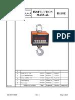 ADOS D110E Navodila za uporabo in kalibracijo