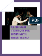 10-Pronged-Technique-for-Freestyle-Rapping