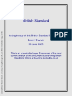 BS 5728-2-1984 Measurement - Cold Potable Water