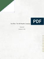 The Old Republic Campaign Guide Version 6