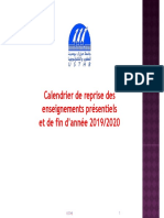 calendrier présentiel, cloture de l'année usthb2(1)