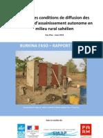 assainissement autonome rural SEN Sahel