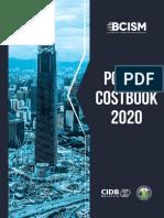 BCISM - Costbook 2020