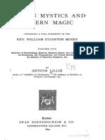 Modern Mystics and Modern Magic.pdf