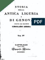 La Storia Della Antica Liguria e Di Genova