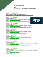 Calendario Para Lengua Inglesa III