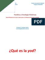 - DESMITIFICACIÓN DE LA YOD