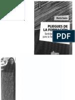 Souto Marta. Pliegues de la formación. Sentidos y herramientas para la formación docente.pdf