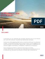 BDO Tunisie Les nouveautés de la LF 2020