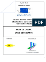 NOTE DE CALCUL