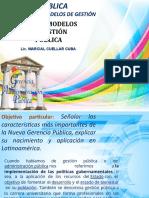 MODELO DE GESTION PUBLICA