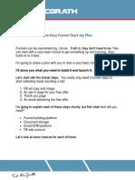 Easy+Funnel+Start-Up+Plan