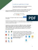Présentation des applications google