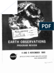 Earth Observations Program Review